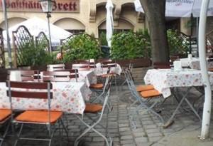 Garten der Weinstube Schellenturm